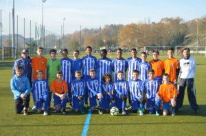 Ecole de foot croisés de Bayonne - U14