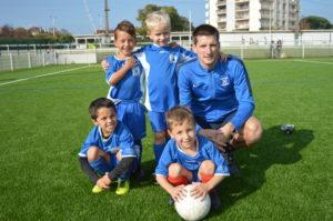 Ecole de foot Croisés de Bayonne - U7