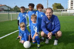 Ecole de foot croisés de Bayonne - U8