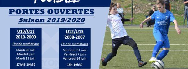 Portes ouvertes U11-U13 Football